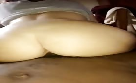 drunk pawg girlfriend twerking on my big black dick