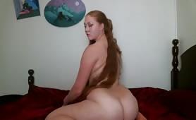 Redhead PAWG Twerk